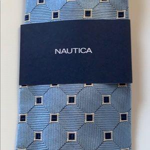 Nautica Accessories - NWT Nautica Silk Tie
